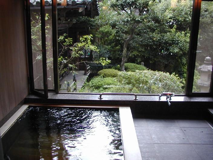 Ofuro ed onsen il rituale del bagno giapponese - Bagno giapponese ...